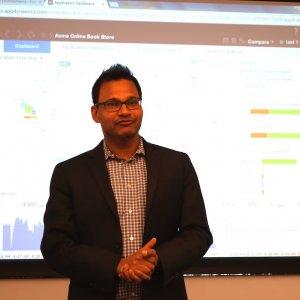 Jyoti Bansal, CEO et fondateur d'AppDynamics, était auparavant en charge du développement chez Wily Technology, désormais dans le giron de CA.