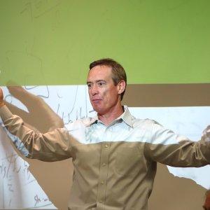 Herb Cunitz, CEO Hortonworks au siège de la start-up à Palo Alto, près de la 101. (crédit : LMI)