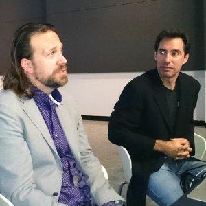 Dave McCrory/CTO et Peter Coppola/VP marketing de Basho Technologies à Sunnyvale pour l'IT Press Tour 2015. (crédit : S.L.)