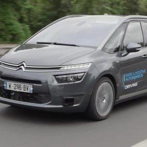 Comme Google en Californie, Citroën fait rouler ses voitures autonomes en Aquitaine.