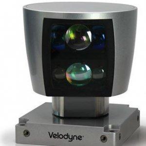 Le lidar, composant co�teux mais essentiel de la voiture autonome, permet d'avoir une vision tr�s pr�cise de l'environnement sur 360�C.