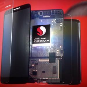 Le modem X50 de Qualcomm qui se retrouvera dans les smartphones en 2018 permettra de t�l�charger � une vitesse de 5 Gbits/s. (cr�dit : D.R.)