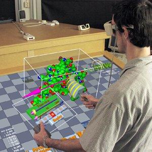 Avec un graphe en 3D, il est possible de comprendre les noeuds reliés les uns aux autres. (crédit D.R.)