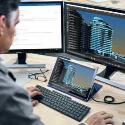 Les postes de travail mobiles ou sédentaires connectés au back-office sont des cibles de choix pour les hackers. (Crédit Microsoft)
