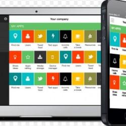 L'�mergence des stores d'entreprise permet de diffuser facilement des apps sur n'importe quel terminal. (cr�dit : D.R.)