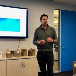 MapD combine une base de données SQL in-memory avec Immerse, un moteur d'analyse visuelle basée sur des GPU, nous a expliqué Todd Mostak, CEO de la jeune société. (Crédit S.L.)