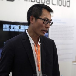 Qunkai Liu, directeur d'Alibaba Cloud France