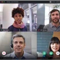Aucune application n'est nécessaire pour rejoindre un appel Google Meet à partir d'un ordinateur de bureau ou d'un portable, vous y accédez directement via votre navigateur.