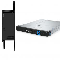 Les serveurs Dell EMC VxRail D et Lenovo ThinkSystem SE350 ont spécialement été conçus pour les environnements edge difficiles.