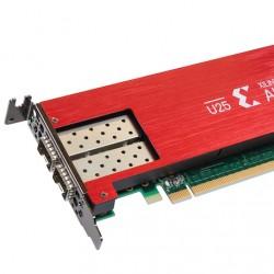 En rachetant Xilinx, AMD se positionne sur le marché des SmartNIC avec l'Alveo U25. (Crédit Xilinx)