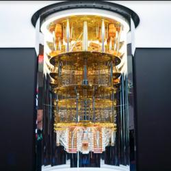 Les clients peuvent travailler avec les �quipes d'IBM pour appr�hender s'ils peuvent mieux traiter certaines charges de travail avec le quantique. (Cr�dit IBM)