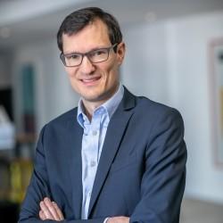 Grégoire de la Crouée, directeur des lignes produits réseaux privés 4G/5G chez Hub One. (Crédit Hub One)