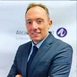 Sylvain Lecoustey, directeur général ventes France chez Alcatel Lucent Enterprise