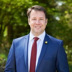 Pour l'actuel président de la région, Loïg Chesnais-Girard, l'objectif est de finir de fibrer la Bretagne en 2026. (Crédit : Loïg Chesnais-Girard)
