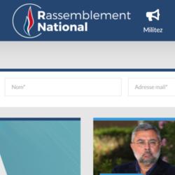Le Rassemblement National n'a pas souhaité répondre à notre demande d'interview sur le programme numérique des candidats aux élections régionales. (Crédit : Rassemblement National)