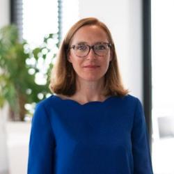 Caroline Comet Fraigneau, directrice du développement d'OVHcloud en France et au Benelux. (Crédit OVH)
