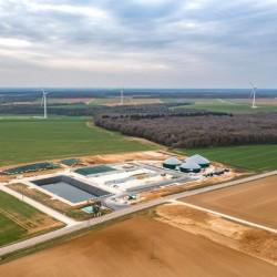 Le site biogaz de GRTgaz � Bar-sur-Seine dans l'Aube. (cr�dit GRTgaz)_1