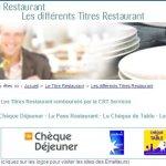 La CRT traite deux fois plus vite les titres restaurant