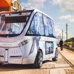 Des navettes de transport fran�aises autonomes d�j� op�rationnelles en circuit ferm�