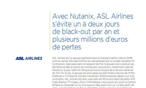 Comment ASL Airlines s'�vite un � deux jours de black-out par an